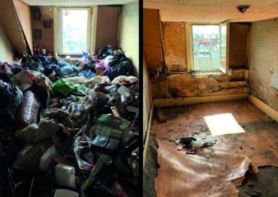 Débarras d'un logement
